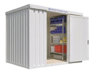 Materialcontainer mieten leihen